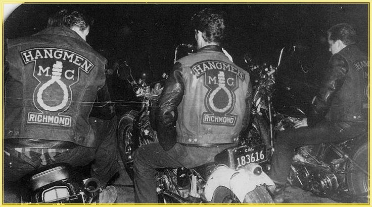 Quot Old School Bikers Quot The Quot Hangmen Quot Motorcycle Club
