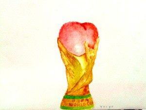 'Amor por el fútbol'. Ilustración por Yoryo.