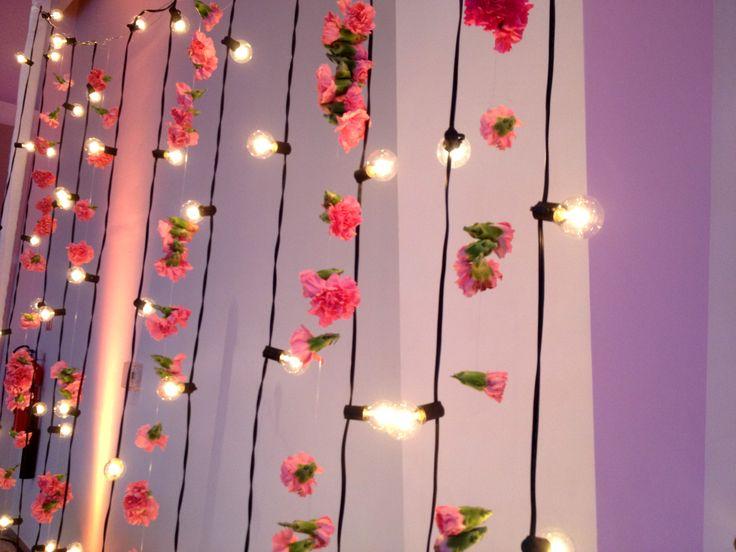 Las 25 mejores ideas sobre cortina de flores en pinterest for Cortinas con luces