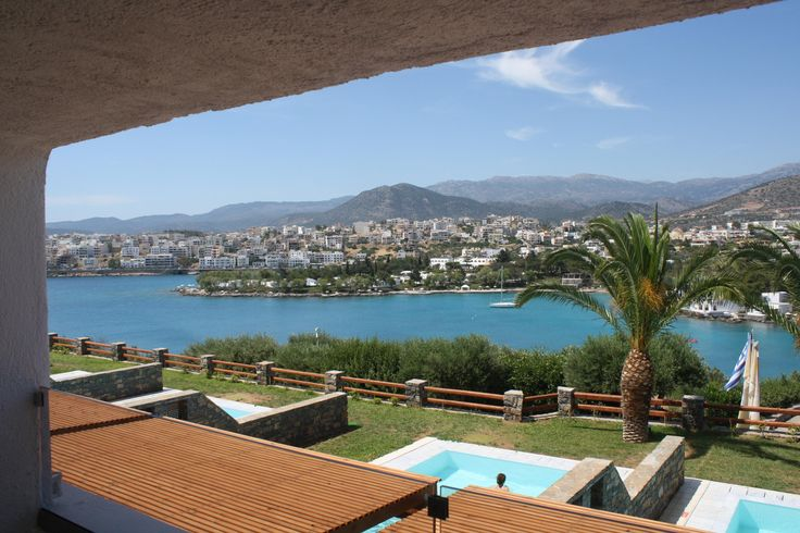 View from the window...at Sensimari Minos Palace in Crete