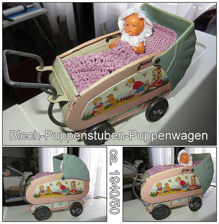 Blechpuppenwagen1940_50 | von Kaeferchens Puppenwelt