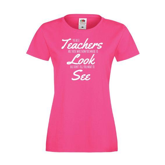 T-shirt de dag van de leraar | The best teacher | De dag van | vanSHIRTJEtotSHIRTJE