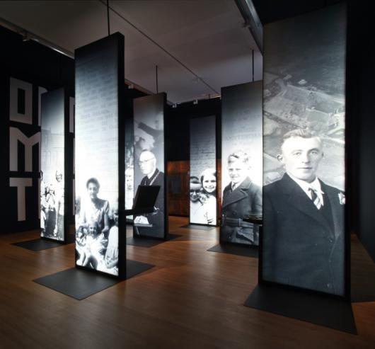 Opera Amsterdam black and white portraits large photographs