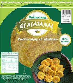 """PATACONES EL PLATANAL Cultivamos el plátano en Alejandria y San Rafael Ant: PATACONES PRECOCIDOS NATURALES 100% """" EL PLATANAL""""..."""