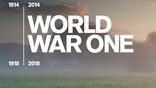World War One : Une timeline faite par la BBC.