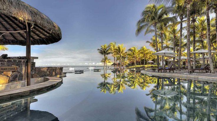 Nirvana Pool Bar - Le Meridien Ile Maurice, Mauritius