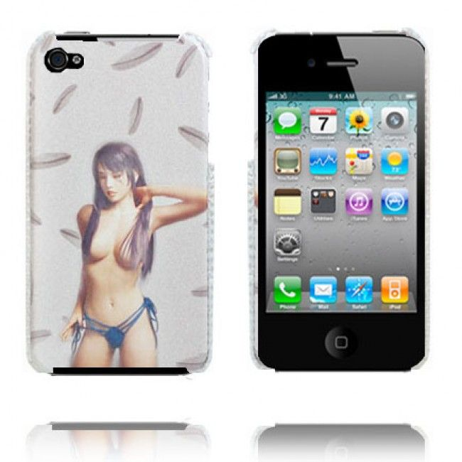 Babe (Topless) iPhone 4 Suojakuori - http://lux-case.fi/babe-topless-iphone-4-suojakuori.html