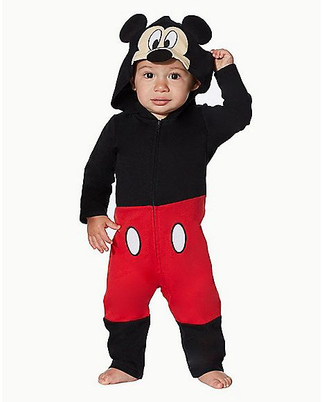 Baby Mickey Mouse Coverall - Disney - Spirithalloween.com