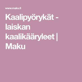 Kaalipyörykät - laiskan kaalikääryleet | Maku