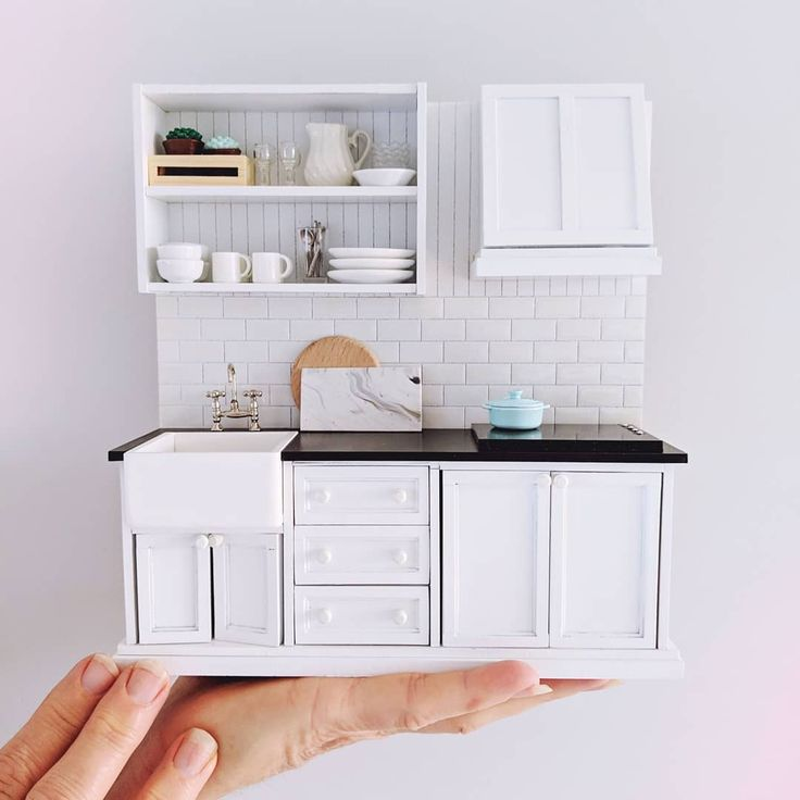 Dollhouse Miniatures Jensen: 2019.03 Miniature Kitchen Dollhouse By Tinyperfectworld