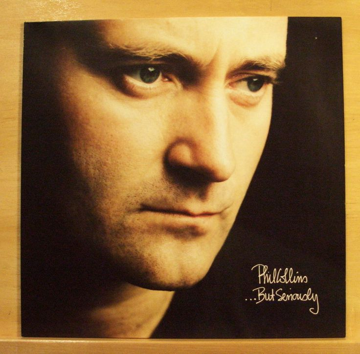 PHIL COLLINS But seriously - Vinyl LP Genesis - Another Day in Paradise Top RARE
