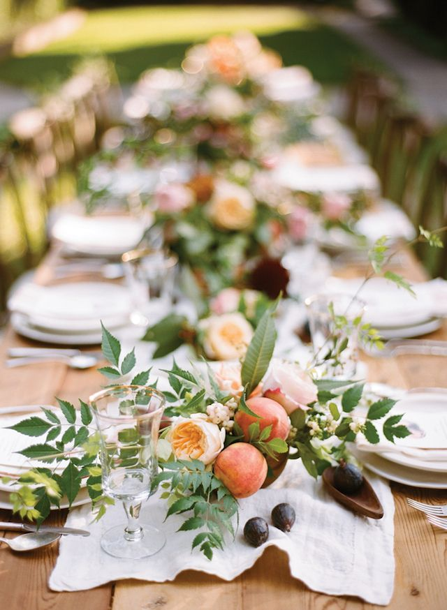 Southern tablescape | Anna Routh and Graham Terhune Photography | see more on: http://burnettsboards.com/2014/11/southern-weddings-sneak-peek/