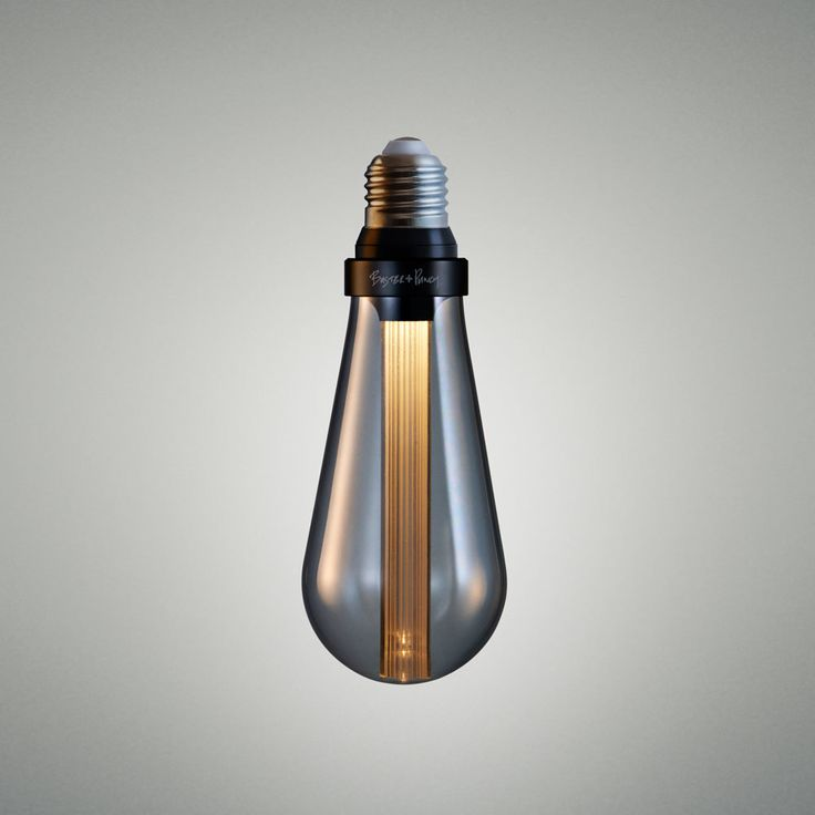 The World's first designer LED bulb. Available in CRYSTAL, GOLD or SMOKED finish.