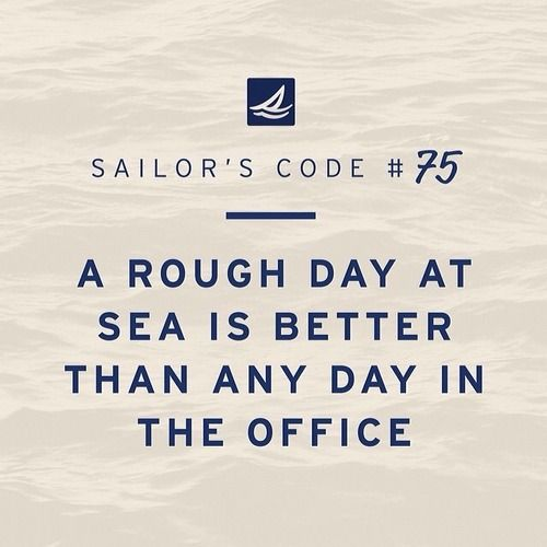 true.. #sailing quote