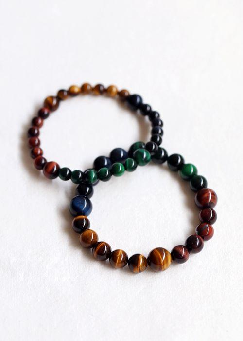 gemstone : tiger eye 4 colors  tiger eye bracelet