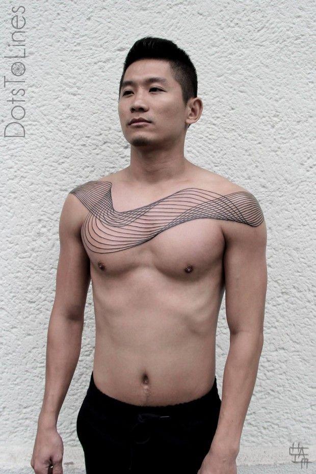 De nouveaux tatouages de Chaim Machlev - Journal du Design
