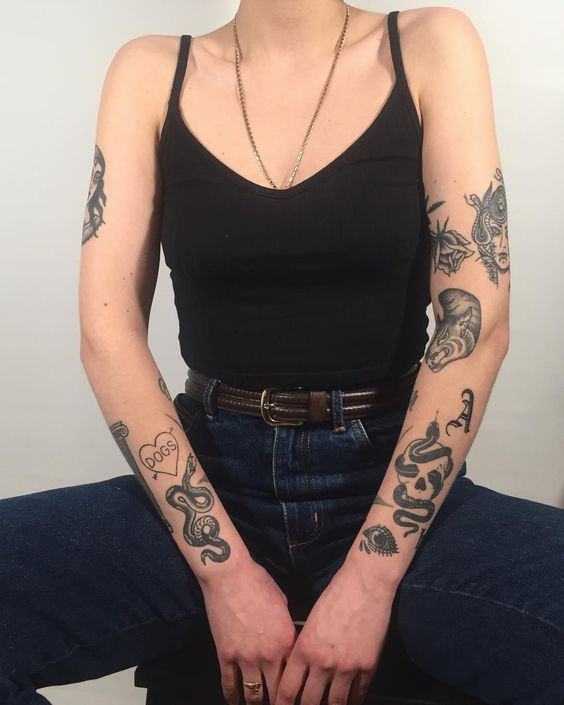 MYSTERIOUS TATTOO PATTERN EXPRESSES EMOTION – Page 53 of 62
