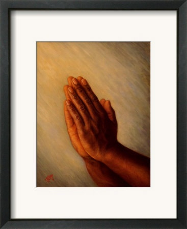 Praying Hands Buy African American Spirituality Posters And Art Prints CultureAmerican ArtDining Room