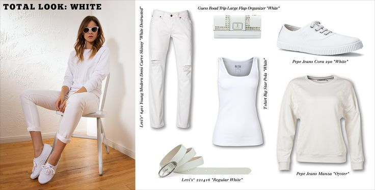 #jeansstore #white