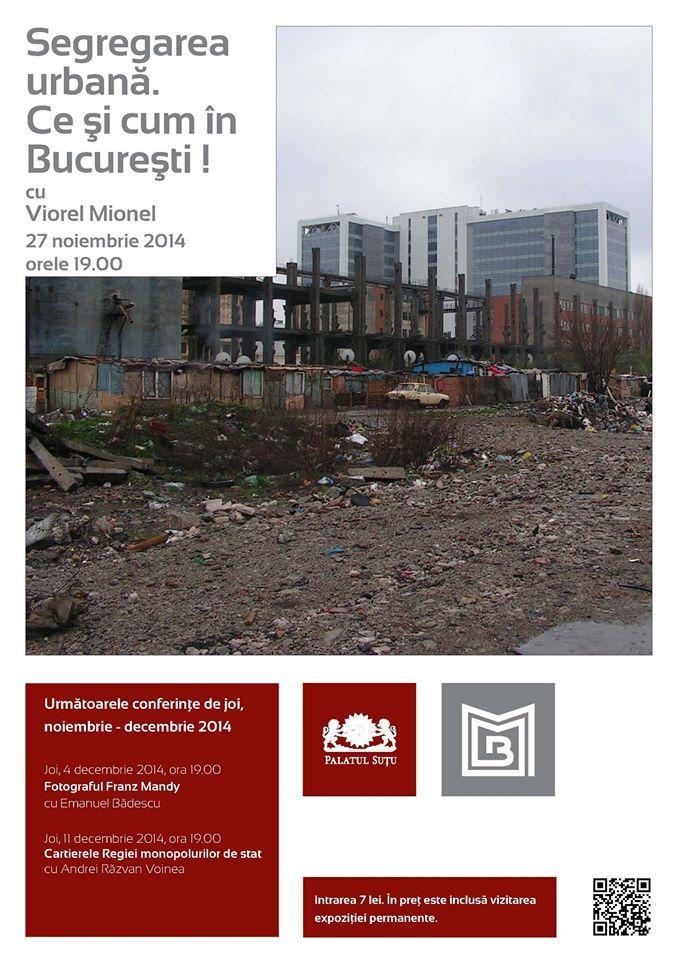 Segregarea urbană. Ce şi cum în Bucureşti!