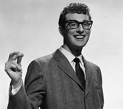 "Charles Hardin Holley (September 7, 1936 – February 3, 1959), known professionally as Buddy Holly, was an American singer-songwriter and a pioneer of rock and roll. Although his success lasted only a year and a half before his death in an airplane crash, Holly is described by critic Bruce Eder as ""the single most influential creative force in early rock and roll. His works and innovations inspired and influenced contemporary and later musicians."