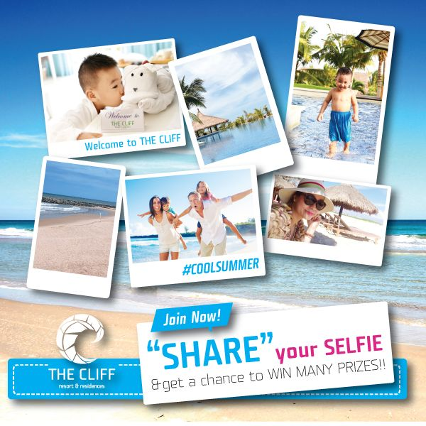#coolsummer Share you sel-welfie to get free voucher at @TheCliffVietnam by https://www.facebook.com/TheCliffVietnam/photos/a.550013718348551.150983.247663801916879/1161623993854184/?type=1&theater