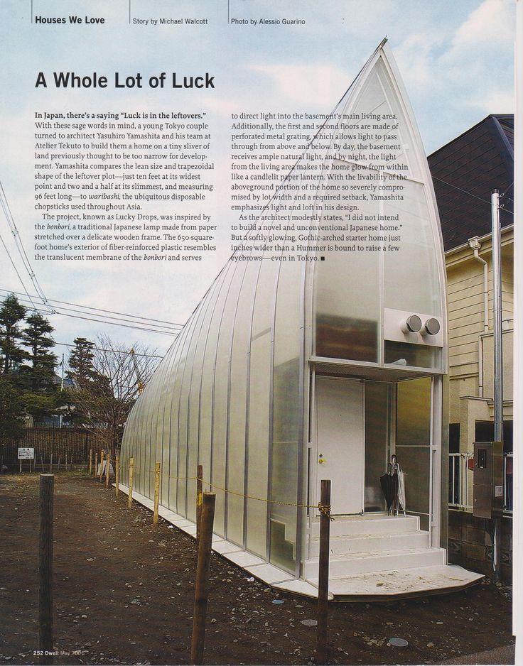 34 best yasuhiro yamashita images on pinterest workshop for Small japanese house design in tokyo by architect yasuhiro yamashita
