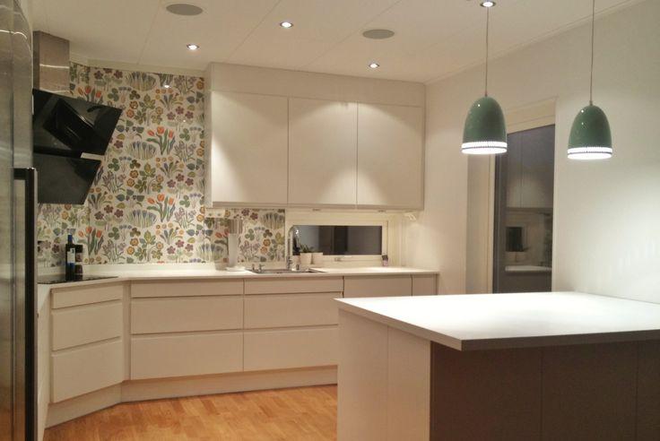 66 best ideas decoraci n de cocinas images on pinterest for Decoracion de paredes modernas