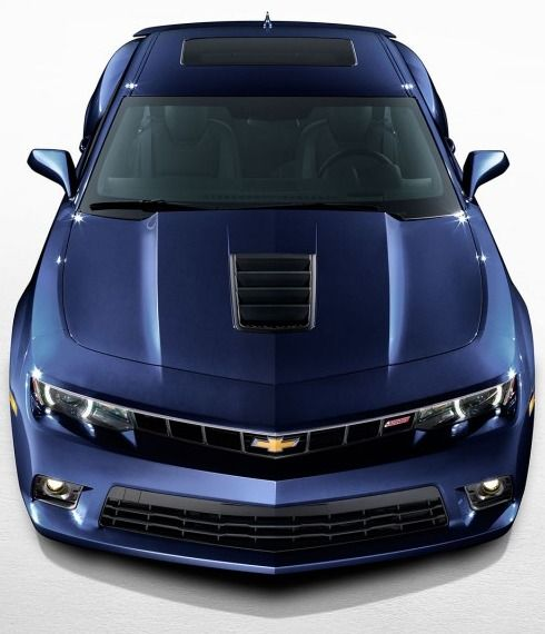 Chevy Camaro - Blue Velvet Metallic