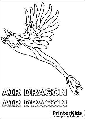 dragonvale air dragon adult coloring page