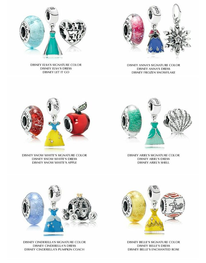 New Disney Spring collection 2015 PANDORA Jewelry