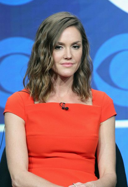 Actress Erinn Hayes speaks onstage at the 'Kevin Can Wait' panel discussion…