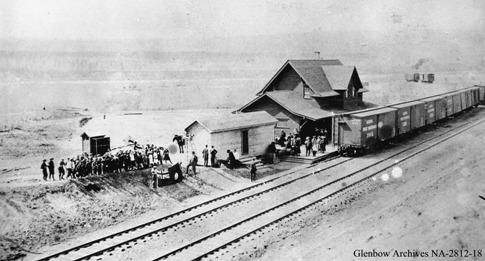 Peace River N.A.R. Station Provincial Historic Resource (circa 1919-1921) Glenbow Archives