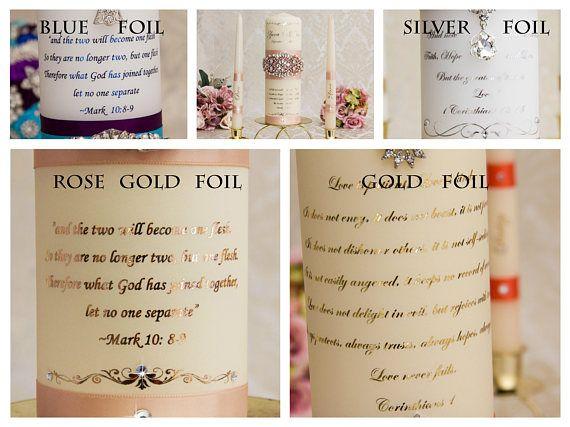 Best 25+ Wedding Unity Candles Ideas On Pinterest