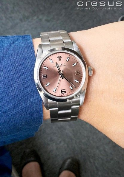 Montre ROLEX Oyster Perpetual d'occasion : Ref 77080. - Cresus