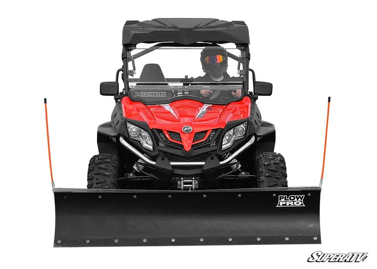 CF MOTO ZForce 800EX Plow Pro Heavy Duty Snow Plow from SuperATV
