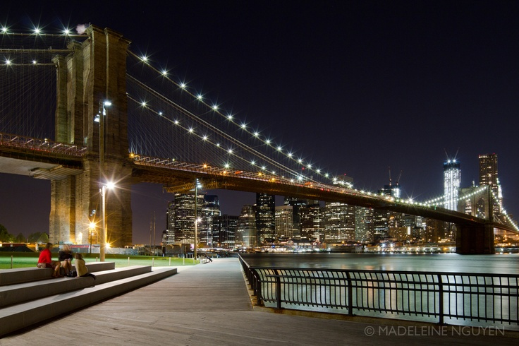 Clear Night in New York City by madeleine nguyen, via 500px
