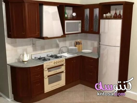 مطابخ صغيرة 2020 اشكال مطابخ صغيرة مستطيلة تصاميم مطابخ صغيرة وبسيطة Kntosa Com 13 19 156 Kitchen Home Decor Small Spaces