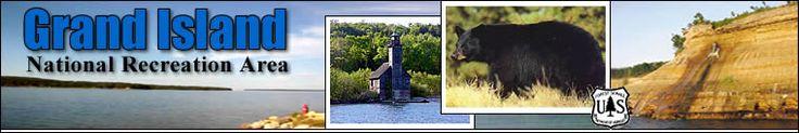 Grand Island near Munising, Michigan and Pictured Rocks. Visit Grand Island for Camping, Hiking, Mountain Biking, Backpacking, Kayaking, Fishing, Hunting, Trapping, Sight Seeing, and more!