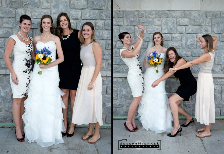 Lakeview Hamilton Wedding Photography, Bride with Volleyball Teammates Posing, Volleyball Bride, Teammates with Bride, Playing Volleyball on Wedding Day