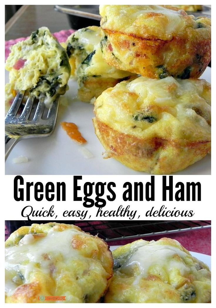 Healthy, easy, clean/real food. Breakfast, snack or light dinner. Make Green Eggs and Ham.
