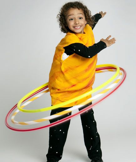 Saturn Costume | 25 Galactic DIYs Inspired By Outer Space: