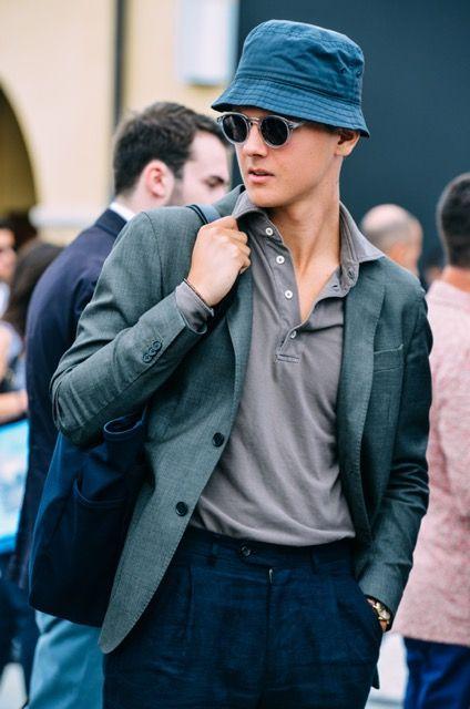 Tendências Masculina Primavera Verão 2018 - bucket hat - chapeu cata ovo