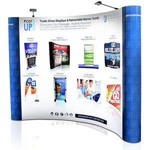 Trade Show Display Stands & Trade Show Booths | Post-Up Stand
