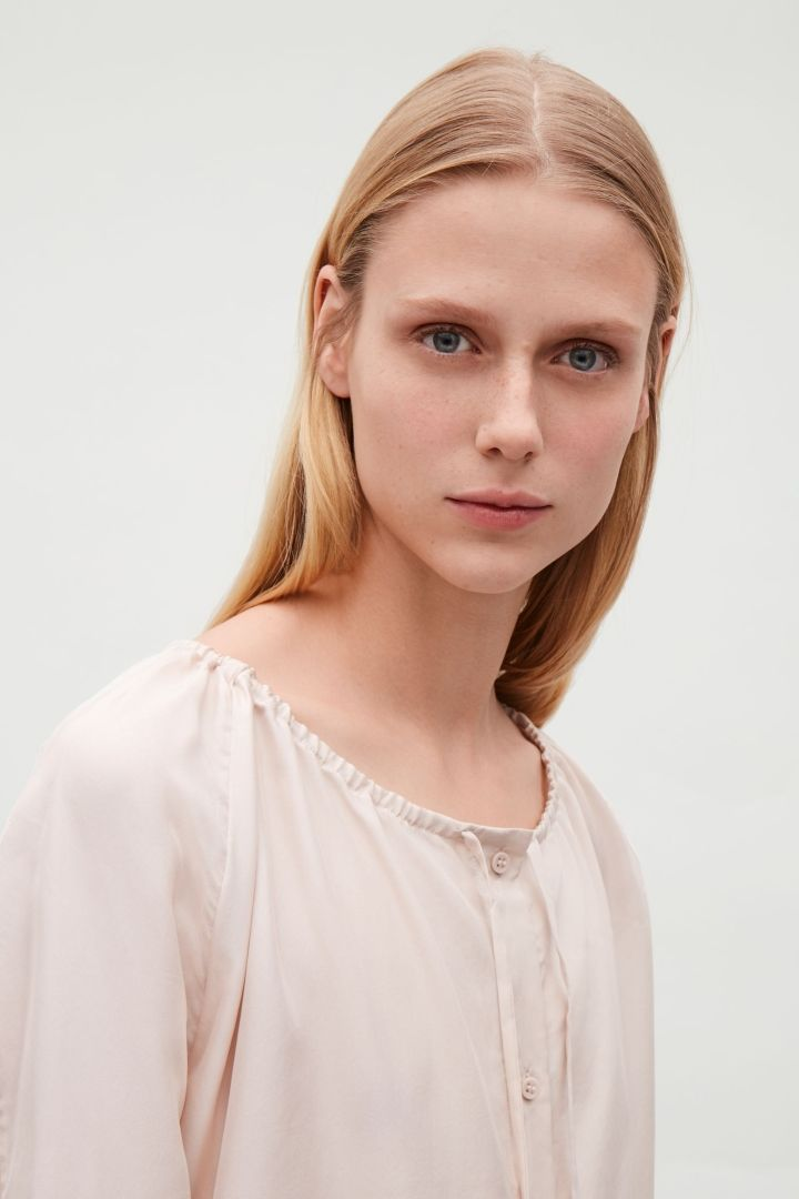 COS | Silk pyjama shirt