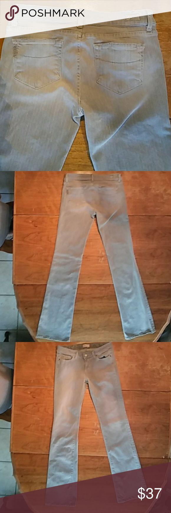 Selling this Paige Premium denim grey jeans on Poshmark! My username is: brandwynne. #shopmycloset #poshmark #fashion #shopping #style #forsale #Paige Jeans #Denim