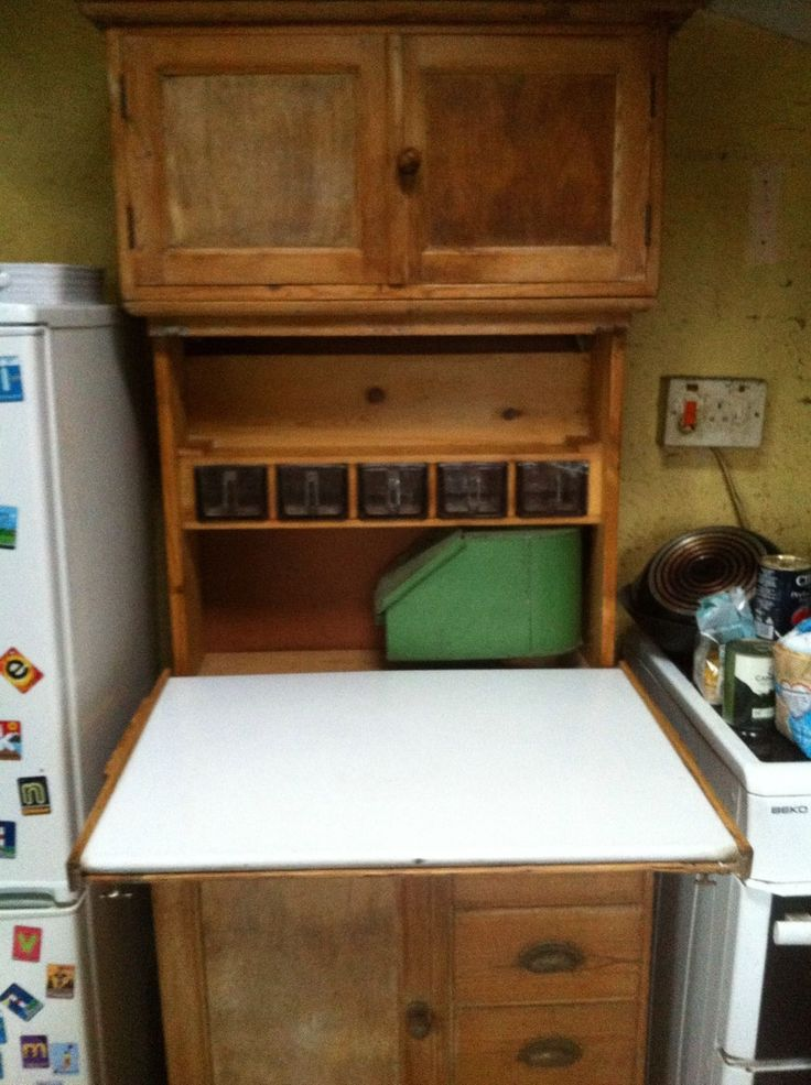 1920s 30s Quicksey Kitchen Cabinet Kitchenette Vintage