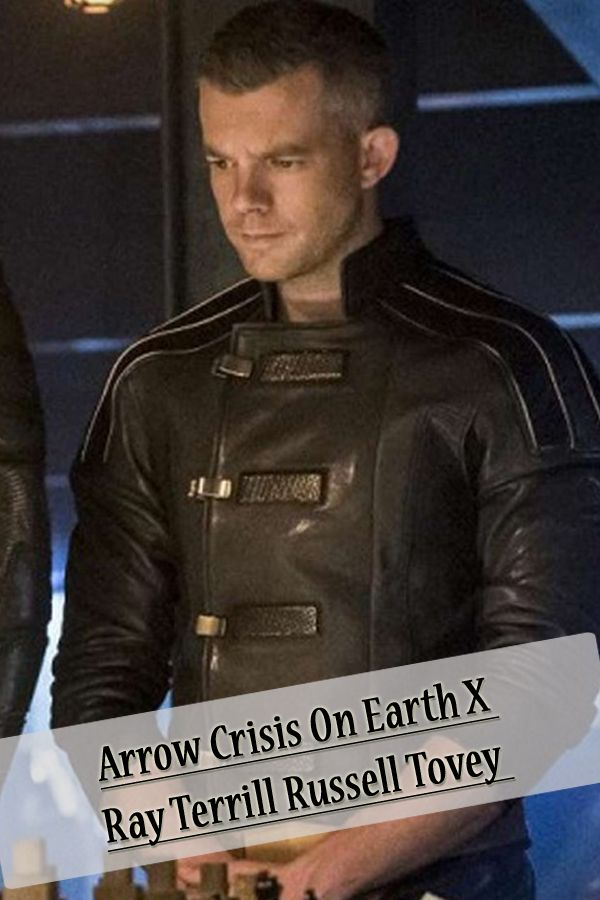 Crisis On Earth X Arrow Russell Tovey Jacket In 2020 Russell