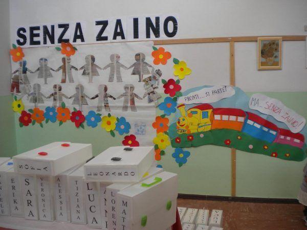 """""""Scuola senza zaino"""" per una scuola che si rinnova e diventa comunità"""