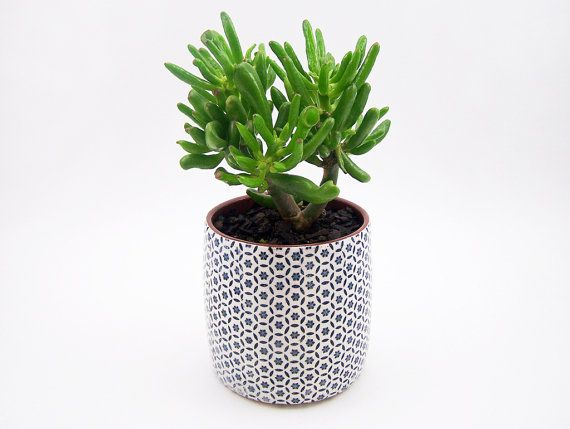 Patterned Pottery Planter- Succulent Planter - Storage Pot - Terracotta Planter - Plant Pot - Ceramic Planter - MADE TO ORDER